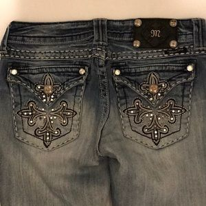 Women's Miss Me Jeans boot cut in size 28